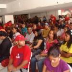 La asamblea reunió a gran cantidad de jóvenes en el municipio Zamora.